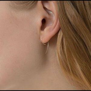 Kathleen Whitaker 14K Gold Loop Earring (Single)